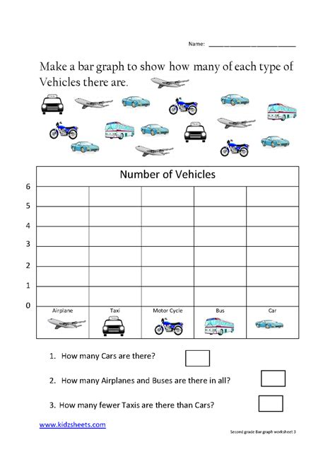 printable bar graph worksheets 2nd grade file 1124580