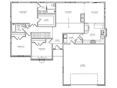simple 3bed room house placement building design house plans metal building interior design