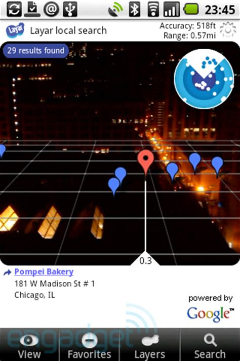reality apps android layar augmented reality app now available in android