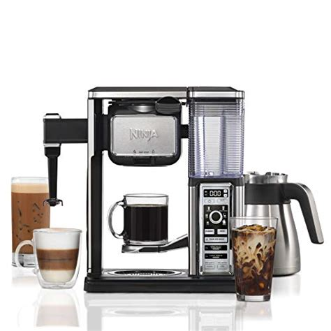 What i like best about the cf097 is that it provides a perfect balance of what a consumer looks for in a coffee maker. Ninja Coffee Bar Auto-iQ Programmable Coffee Maker with 6 Brew Sizes, 5 Brew Options, Milk ...