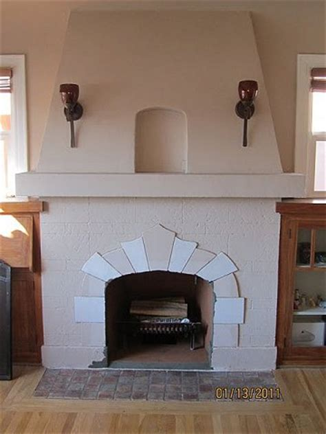 stucco  plaster fireplace   san diego custom