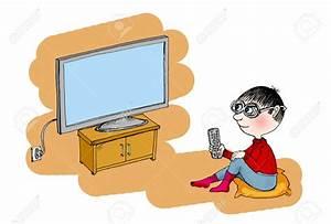 Boy Watching Tv Clipart – 101 Clip Art