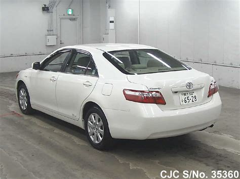 Toyota Camry 2008 For Sale by 2008 Toyota Camry White For Sale Stock No 35360