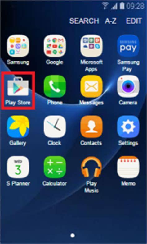 how do i an app onto my samsung galaxy smartphone