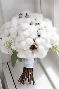 Bouquet Fleur De Coton : bouquet de mariee original fleur coton j 39 ai dit oui ~ Teatrodelosmanantiales.com Idées de Décoration