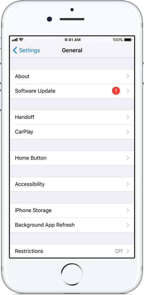 iphone ios update update your iphone or ipod touch apple support