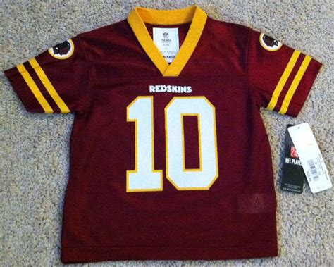 Griffin Iii Rg3 Washington Redskins Kids/youth Football