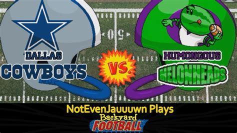 Backyard Football Team Names by 14 Of Backyard Football Dallas Cowboys Vs Humongous