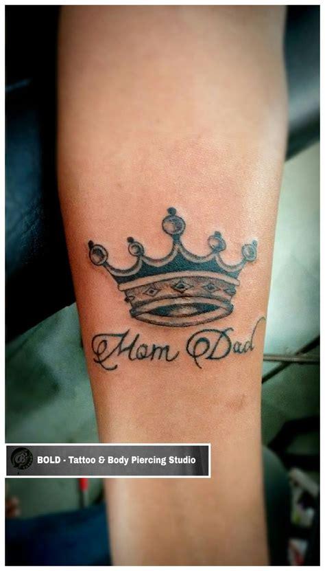 mom dad  crown tattoo mum  dad tattoos crown tattoo crown tattoo design