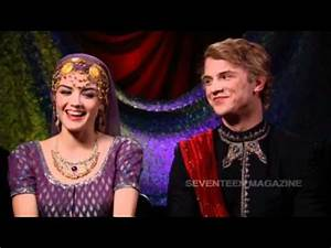Exclusive Interview with Lucy Hale and Freddie Stroma ...