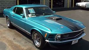 1970 Ford Mustang Mach 1 351 Cleveland V8 Fastback - YouTube