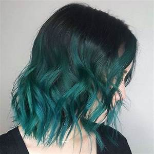 Lavish Green Hair Color Ideas – Best Hair Color Trends ...