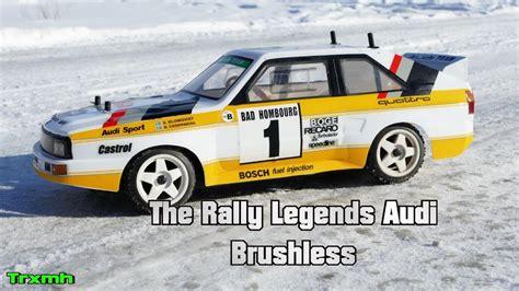 The Rally Legends Audi Quattro Brushless Run Youtube