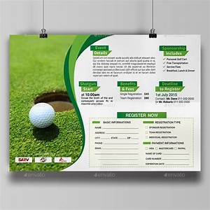 golf tournament flyer template by aam360 graphicriver With golf tournament program template