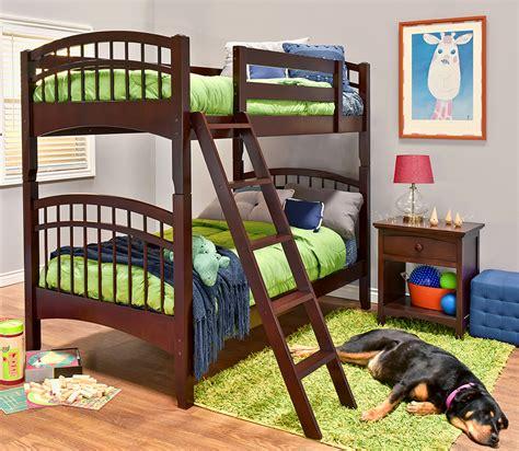 mckenzie hardwood bunk bed epoch design