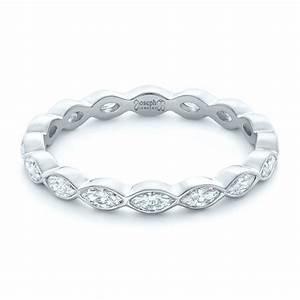 Custom Marquise Diamond Eternity Wedding Band 102287
