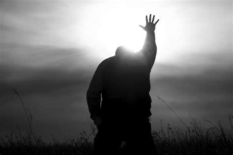 jesus comforter god surrender knees hands lord prayer reaching open light today grace bible ministry word al voice