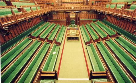 House of Commons Chamber - elevated view   The House of ...