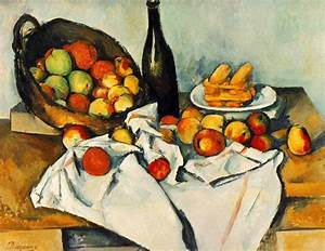 WebMuseum: Cézanne, Paul: Still Life with Basket of Apples