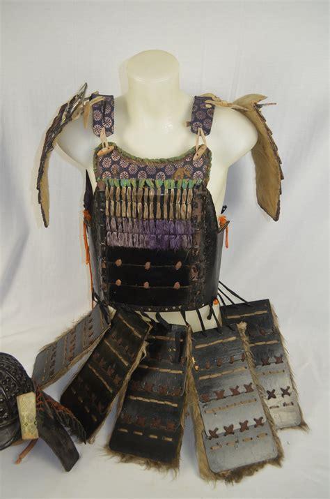 lot detail authentic japanese samurai armor whelmet