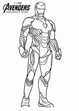 Coloring Iron Endgame Avengers War Marvel Printable Spiderman Colouring Infinity Sheets Colorear Adults Batman Coloringfolder sketch template