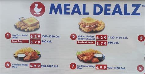 Fast Food Source-fast food menus and blogs - Zaxbys Menu