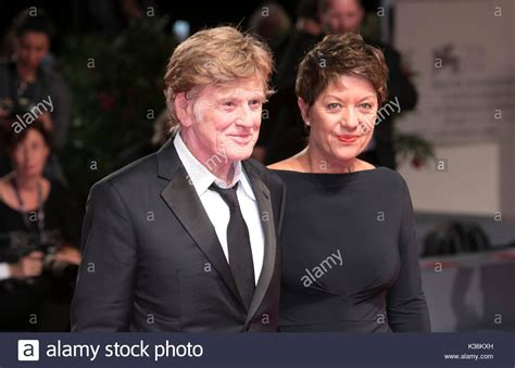 robert redford venice 2017 venice italy 01st sep 2017 robert redford and wife