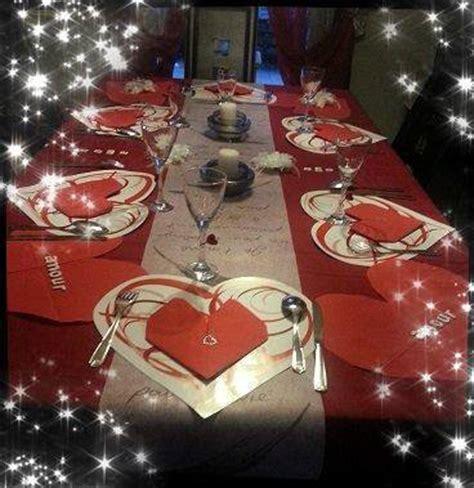deco table pour la st valentin 2015 mon p resto