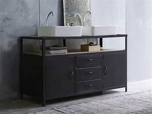 Style De Salle De Bain : le style industriel s 39 invite dans la salle de bain plans ~ Teatrodelosmanantiales.com Idées de Décoration