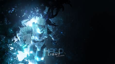 halo light explosion wallpaper by dieghodesigns on