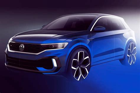 hot volkswagen  roc  previewed  official sketch auto