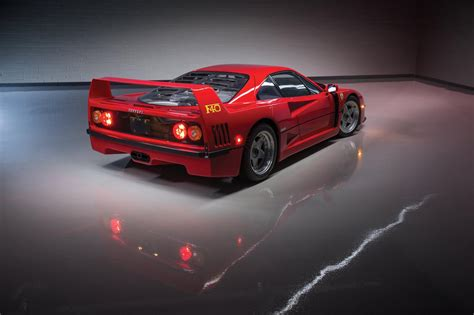How Much Is A F40 Worth by Owner Auctioning His Collection Of 13 Cars