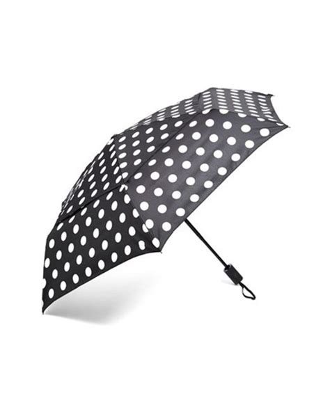 shedrain windpro auto open close umbrella in black lyst