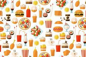 Fast Food Wallpaper - WallpaperSafari