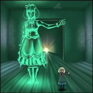 Monster Girl Challenge: Ghost by Neillustrations on DeviantArt