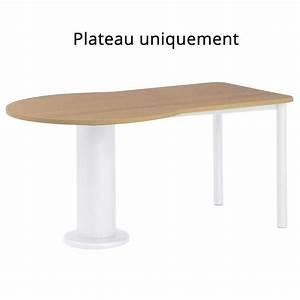 Plateau De Table : plateau de table seul en stratifi hpl forme sp ciale serrure paisseur 26 mm 4 pieds ~ Teatrodelosmanantiales.com Idées de Décoration