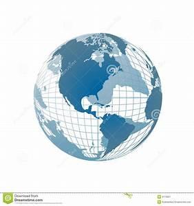 World Map, 3D Globe Royalty Free Stock Photography - Image ...
