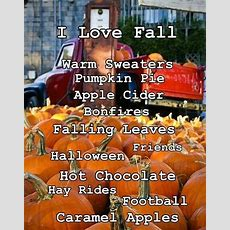 I Love Fall Pictures, Photos, And Images For Facebook, Tumblr, Pinterest, And Twitter