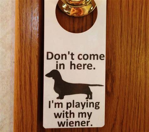 Dachshund Wiener Dog Sign. Free US Shipping. Dry Erase ...