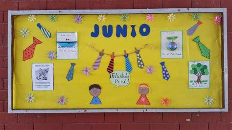 periodico mural en el mes de junio peri 243 dico mural junio periodico mural kinder y madita