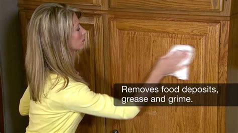 how to clean kitchen cabinets from grease how to clean wood cabinets magic 174 9342