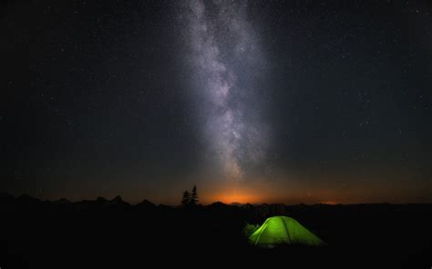 night camp sky stars wallpapers hd wallpapers id