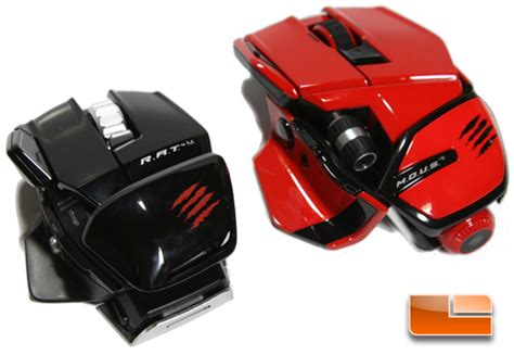 Mad Catz Rat M And Mous 9 Gaming Mice Review