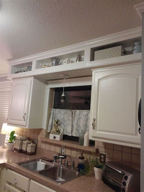 kitchen soffit makeover update from outdated soffits to usable space hometalk 3081