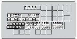 2008 Toyota Land Cruiser Fuse Box Diagram