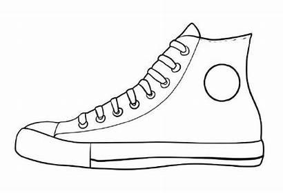 Pete Cat Shoe Shoes Printable Template Coloring