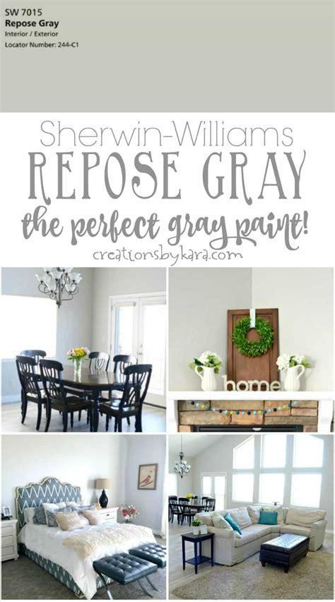 my favorite gray paint sherwin williams repose gray creations by kara