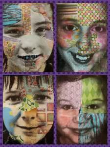 Angela Anderson Art Blog: Mixed Media Portraits - Kids Art ...
