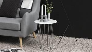 Beistelltisch Metall Weiß : beistelltisch casia glas kristallklar wei und metall chrom ~ Whattoseeinmadrid.com Haus und Dekorationen