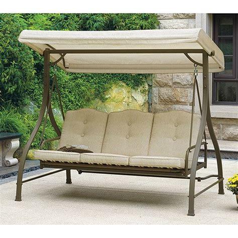 canapé swing outdoor swing hammock seats 3
